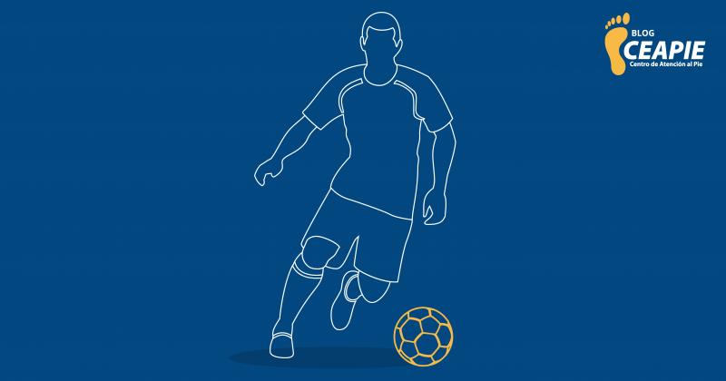 ¿Cómo debo cuidar mis pies si practico fútbol?